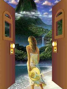 Di là da quella porta Flusso di coscienza