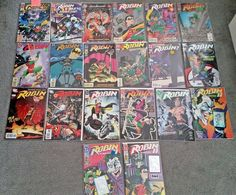 DC Comics Robin - Lot of 20 - Modern Age NM