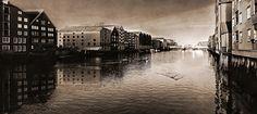Trondheim Norway by Aziz Nasuti on Trondheim Norway, New York Skyline, Places To Visit, Travel, Black, Black People, Viajes, Traveling, Places Worth Visiting