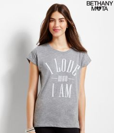 Love Who I Am Graphic Tunic