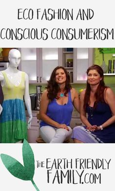 An interesting interview about why eco fashion is important. Listen to the interview here: http://www.theearthfriendlyfamily.com/eco-fashion-and-conscious-consumerism/