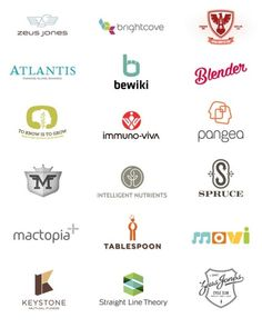 Logo Design Inspiration A collection of logo design works by Brad Surcey.