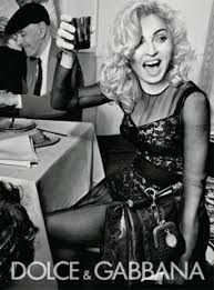 Image result for madonna dolce and gabbana ad