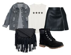 """""""Black Stuffs"""" by mariaelisabeth-r on Polyvore featuring Guild Prime and Timberland"""