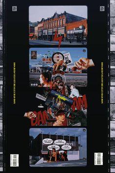 Postcard by ELFenoch on DeviantArt Web Design, Media Design, Layout Design, Graphic Design Posters, Graphic Design Inspiration, Graphic Art, Retro Graphic Design, Collage Design, Collage Art