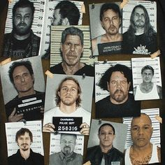 Sons of Anarchy Mugshots
