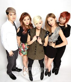 Sunny Hill-Their fame and recognition increased greatly with their comeback in 2011 with the mini-album Midnight Circus, after another member, Misung, was added.