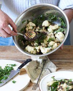 Sicilian grilled vegetable salad