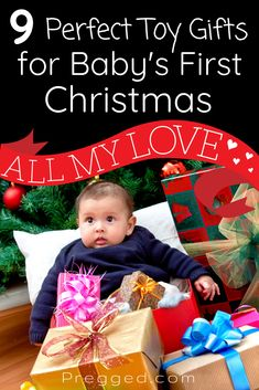 Christmas toys for babies. What toys would baby love for their first Christmas? What will they play with for months on end? These 9 baby toys are guaranteed to bring fun, thrills and excitement AND help baby's development too Christmas Gift Guide, Christmas Toys, First Pregnancy, Pregnancy Tips, Gentle Parenting, Parenting Tips, Thing 1, Pregnancy Information, Happy Mom