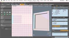 UV mapping The Move and Sew Tools modo