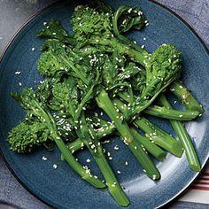 Sesame Broccolini | Cooking Light #myplate #veggies