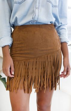Bohemia Tassel Suede Skirt Brown Full Skirts Sexy Long Maxi Resort Wear Casual High Waist saia Street Gypsy Hippie vestidos Chic