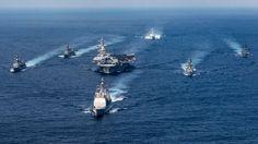 USS Carl Vinson não estava viajando para a Coreia do Norte