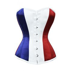 CD-617 - Flag of France Corset - New Year Sale - SALE.  How could I *not*?