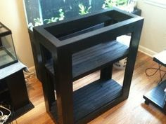 DIY Stand for my 20 Gallon Long - YouTube