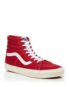 51022c1163c818 Vegan Vans SK8-HI Reissue Sneakers in Red Tango