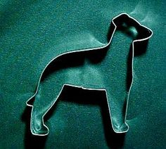 GREYHOUND COOKIE CUTTER: Christmas Cookies, Ornament, Dog Biscuits, Birthday Party.Hand Soldered for Extra Quality Whippet Italian Greyhound on Etsy, $8.50