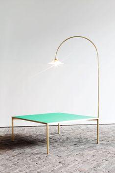 low table + lamp | Muller Van Severen