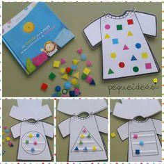 Del círculo que se cayó de una camiseta de lunares - Camisetas con formas geométricas
