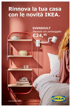 Con la mensola con portaoggetti SVENSHULT è facile cambiare look a ogni spazio . With the SVENSHULT shelf with storage it is easy to change the look of any space in your home. Customize your walls b Kids Room Furniture, Furniture Layout, Floor Colors, Home Staging, Simple House, Home And Living, Living Rooms, Interior Design Living Room, Sweet Home