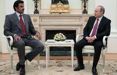 Путин обсудил с эмиром Катара международные проблемы и двустороннее сотрудничество   Политика   6 июня, 21:33 дата обновления: 6 июня, 21:43 UTC+3   Подробнее на ТАСС:   http://tass.ru/politika/4318456