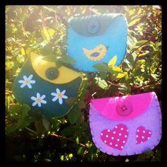 Twit Twoo Felt Purse - The Supermums Craft Fair
