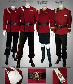 Officer's Class A Uniforms