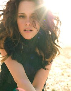 I love Kristen Stewart and all, but her hair is my inspiration.  I want to be able to make my hair look like that!