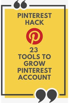 Some of the best Pinterest tools that can help you to effectively manage and grow your Pinterest account. #Pinterest #PinterestTips #PinterestIdeas #PinterestTools #Socialmedia #contentmarketing #hacks #digitalmarketing Marketing Tools, Social Media Marketing, Digital Marketing, Marketing Ideas, Business Marketing, Content Marketing, Business Tips, Online Business, Social Media Updates