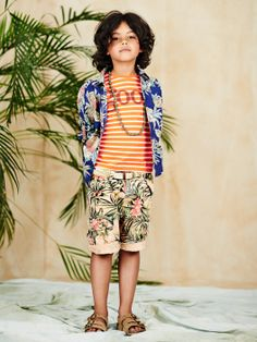 Mr Shrunk is thirsty for some tropical climes this season and these vibrant shorts will do the trick. http://webstore-all.scotch-soda.com/boys/shrunk-%2313/ss14-boys-lookbook-13.html