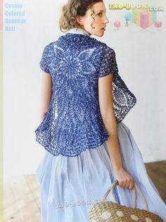 TEJIDOS CROCHET: saco circular crochet ###()()()@@@ lee.