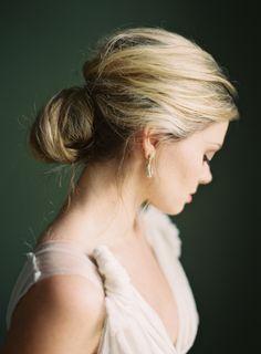incredible wedding hair via once wed