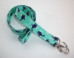 Fabric Lanyard ID Badge Holder Lobster clasp and key by preppy / fabric / cute / patterns / key chain / office, nurse, student id, badge / key leash / gifts / car key ring School Gifts, Student Gifts, Preppy Car Accessories, Desk Accessories, Hedgehog Supplies, Gifts For Friends, Gifts For Her, Key Fobs, Key Chain