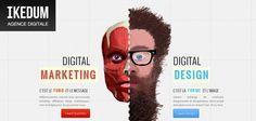 Web design inspiration : ikedum.com