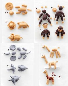 Martha Stewart Stuffed Animal Birthday Cake Fixtures. Easier to do when you can see it piece by piece