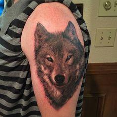 Wolf - Francisco Sanchez @franciscosanchez_tattoo - 124 W Oak St Denton TX #tattoo #tattooartist #tattwho #ink #inked #inkedup #inklife #inkedlife #inklifestyle #inkedlifestyle #tattoos #tattooart #artist #tattoosnob #tatuador #tatted #tattedup #wolf #wolves #realism #realistic #portrait #denton #tx #texas