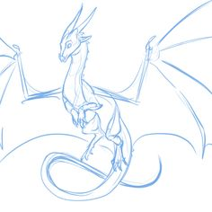 quick sketch to get back into the swing of things. Peril from Wings of Fire! I figured I should draw her too since she was a big part of book one. Colors to come later tips wings Here Be Dragons Animal Sketches, Animal Drawings, Art Sketches, Art Drawings, Dragon Drawings, Cute Dragon Drawing, Wings Drawing, Drawing Base, Back Drawing