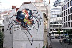 Les oeuvres street-art de Nychos