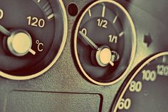 car, dashboard, gauges, interior, automotive, fuel, gas