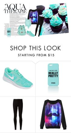 """""""Galaxy style"""" by tess-302 ❤ liked on Polyvore featuring Anja, NIKE, Rick Owens Lilies, Ally Fashion, galaxy and cupcakes"""