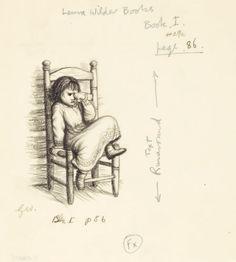 Mainstream Illustration, GARTH WILLIAMS (American, 1912-1996). Little House in the BigWoods, set of three: A Dog Story, Sundays, and I HateSu...