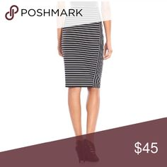 MIDI pointe pencil skirt Product Details Get a sleek and stylish look with this women's Apt. 9 pencil skirt. In black.  PRODUCT FEATURES Stretchy ponte construction Unlined FIT & SIZING 25-in. approximate length Pencil skirt styling Elastic waistband FABRIC & CARE Machine wash E* Skirts