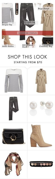 """""""Tried and True: Wardrobe Staples..."""" by unamiradaatuarmario ❤ liked on Polyvore featuring Claudie Pierlot, River Island, Acne Studios, J.W. Anderson, Kendall + Kylie, Burberry, Marc Jacobs and WardrobeStaples"""
