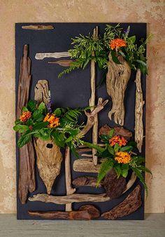 流木で描く森のキャンバス#9