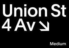 medium | typography | specimen