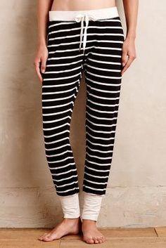 Splendid Cuffed Stripe Loungers