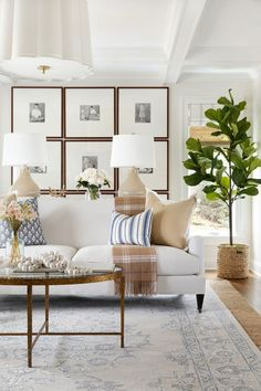 Home Living Room, Living Room Designs, Living Room Decor, Living Spaces, Interior Exterior, Interior Design, Transitional House, Living Room Inspiration, Home Fashion