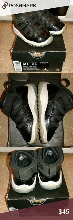 Retro Jordan 11s Size 5c Excellent Used Condition Jordan 11 Size 5c Jordan Shoes Sneakers