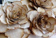 www.weddbook.com everything about wedding ♥ Vintage Wedding DIY Decoration Ideas | El Yapimi Guller #rose #diy #vintage
