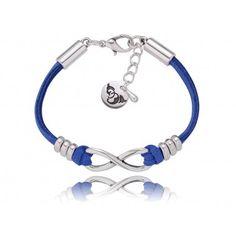 maaaarzę o tejnieskończenie pięknej..marzeniami błękitu zaklętej bransoletce:)